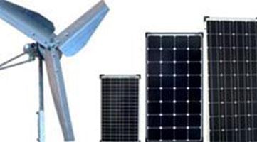 Offgridtec© Solarmodul Träger 5W und Wandmontage 30W schwarz Für Flachdach
