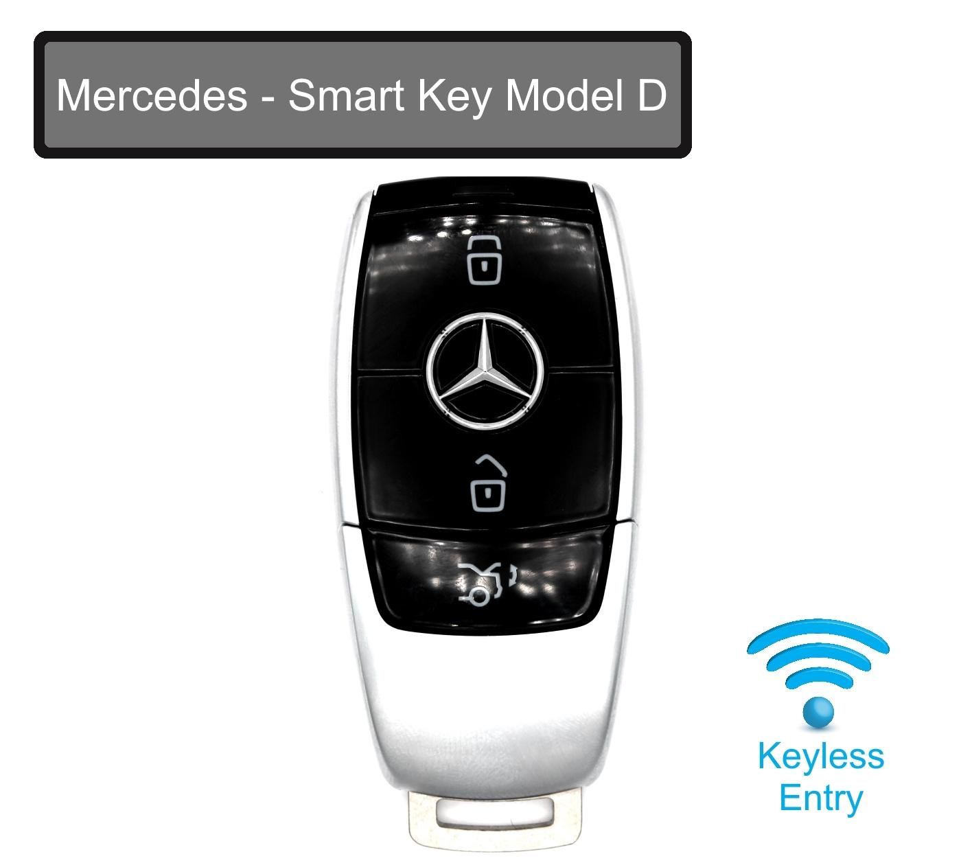 Schwarz für Mercedes Schlüssel TPU Hülle Fernbedienung Benz W213 E-Class 2007+
