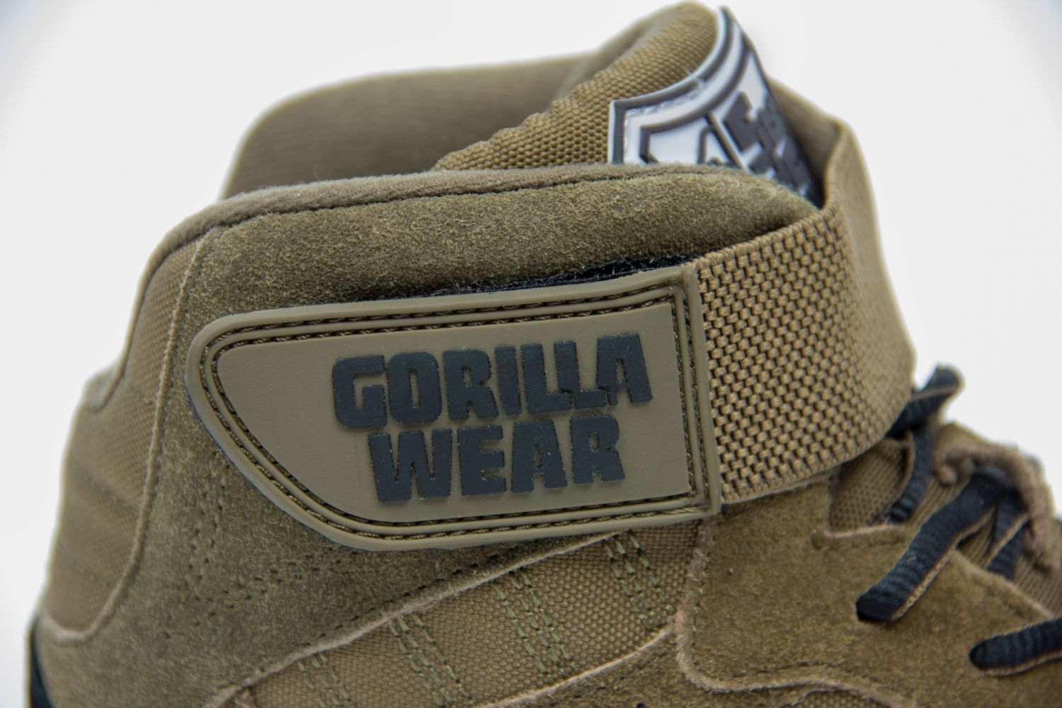 a690f9338e7d Gorilla Wear Perry High Tops pro Army Green Bodybuilding and Fitness ...