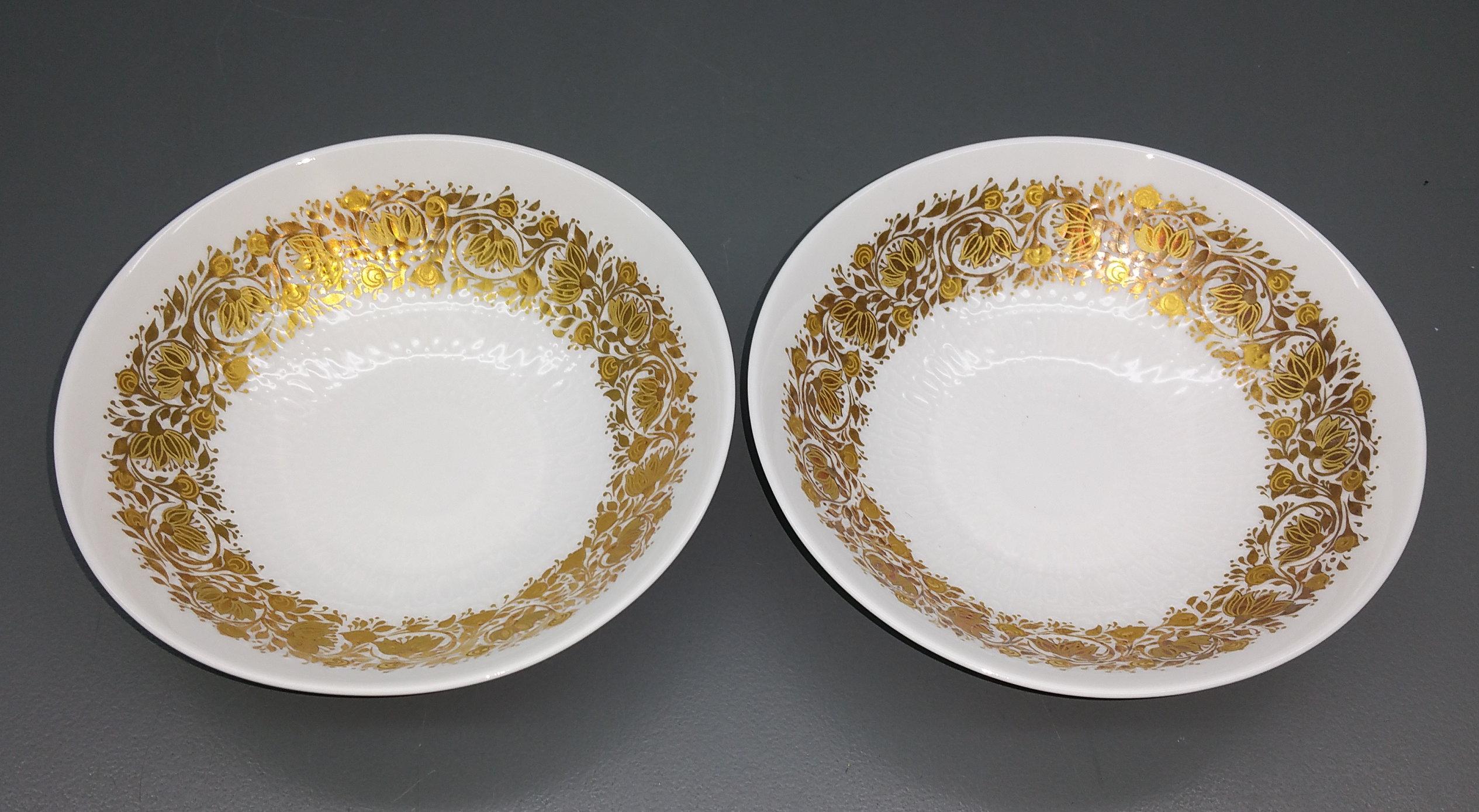 Untersetzer D Schälchen 10 cm. Rosenthal Romanze Primavera Gold