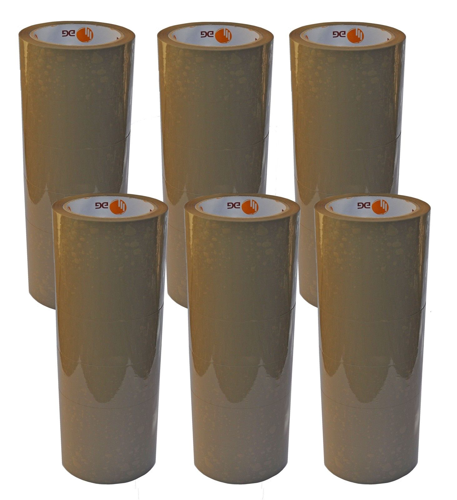 36 Rollen Paketklebeband Kleberollen Packband transparent 66m