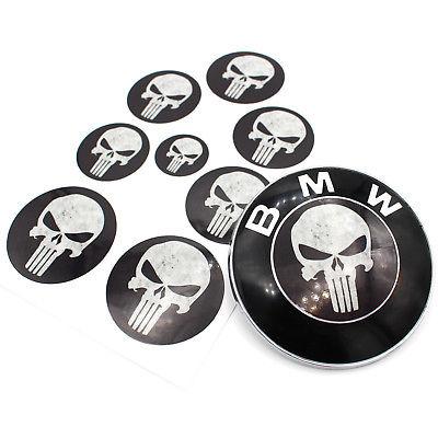 Emblème Coins Noir Foncé Pour BMW F32 F33 F36 F25 E84 E70 E46 F12 M Package LCI