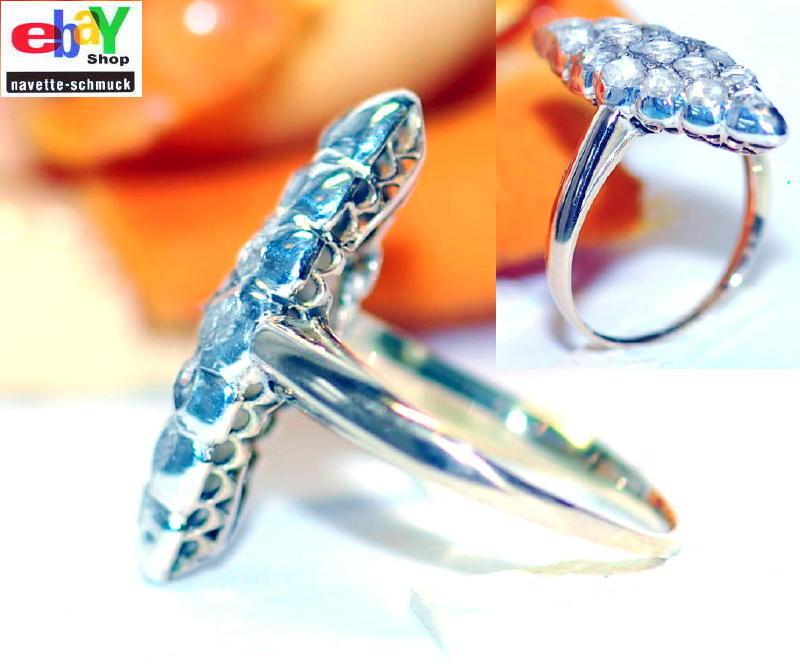 wertvoller exclusiver antiker 1 00ct diamant 585er goldring wert 2090 euro rar ebay. Black Bedroom Furniture Sets. Home Design Ideas